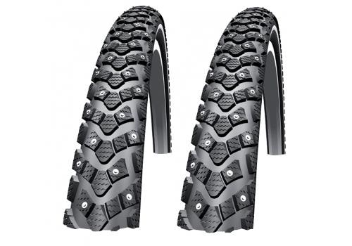 "Schwalbe Dubbdäck, Winter 28"", 622-35, 2 pack"