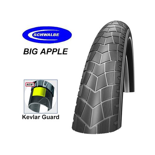 Schwalbe Däck, Big Apple Kevlar 28x2.35/622x60