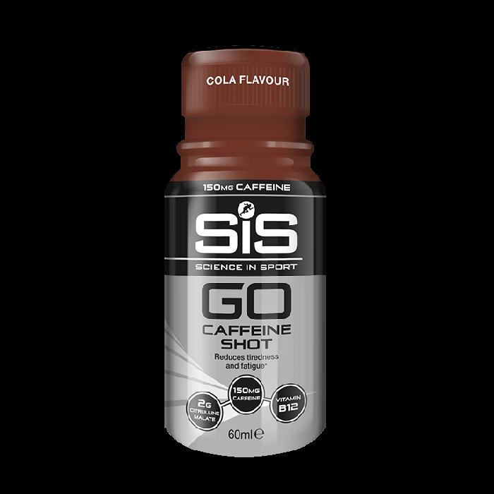 SiS Shot, GO Caffeine 60ml, Diverse Smakalternativ