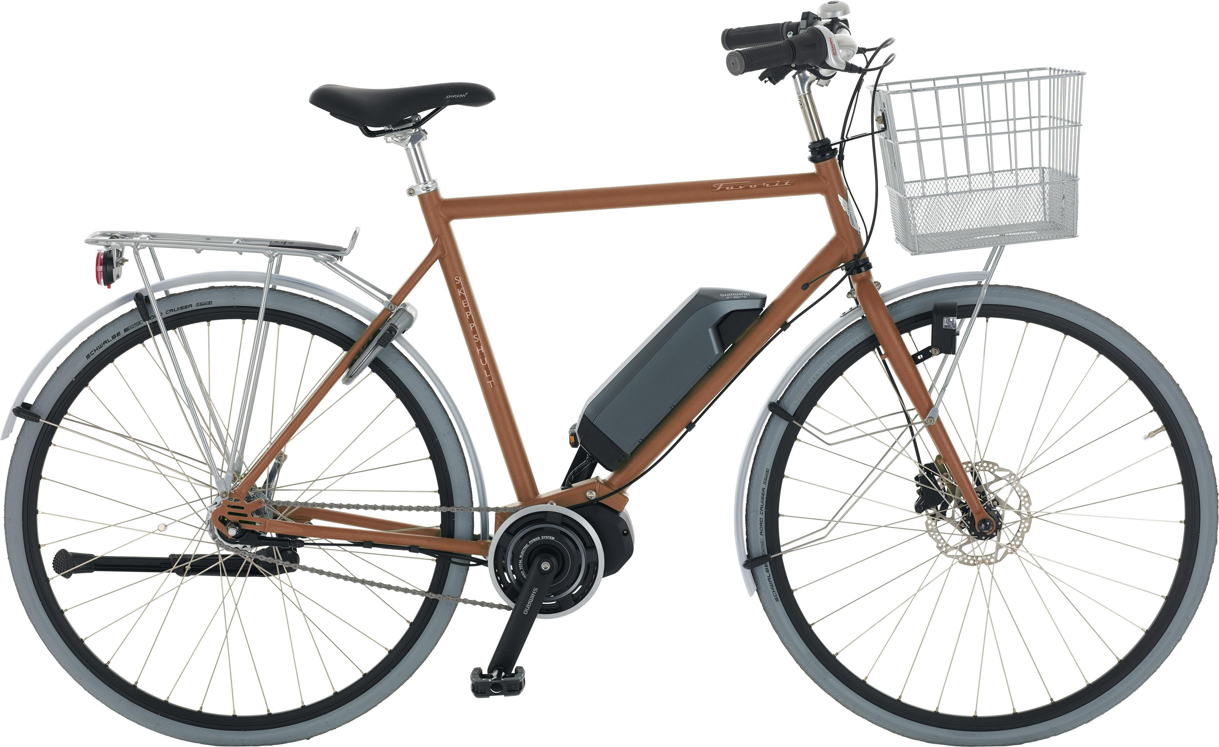 Skeppshult Cykel, Favorit EL 7, Brons Matt