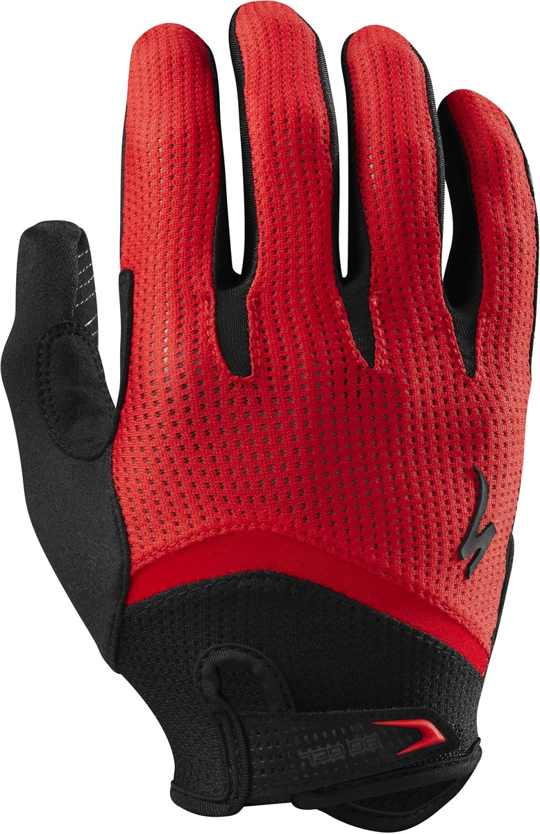 Specialized Handske, BG Gel Wiretap, Red/Black