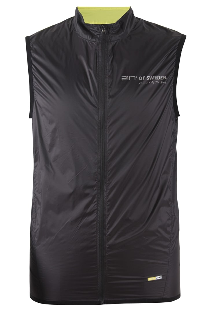2117 of Sweden Väst, Håle Cycling Vest, Black
