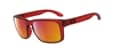 Oakley Holbrook, Crystal Red w/Rub Iridium
