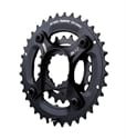 SRAM Drev SET, X9 GXP Spider, Double 42/28t
